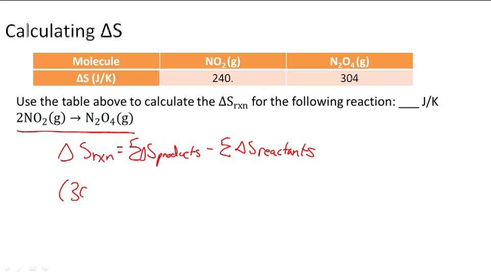 Entropy - Example 1