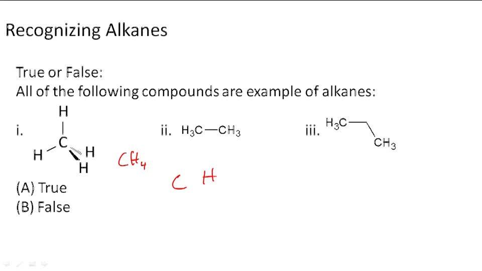 Alkanes - Example 1