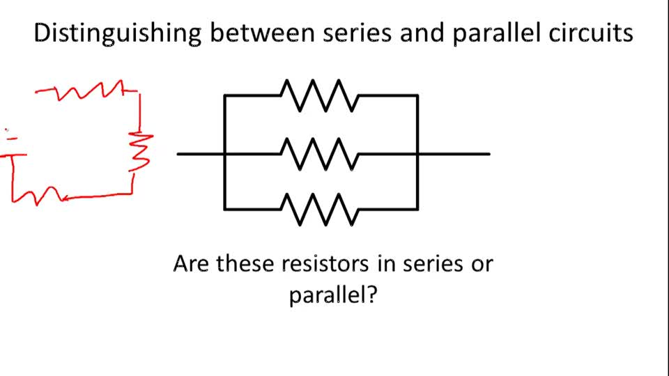 Difference Between Series And Parallel Circuits With Its Manual Guide