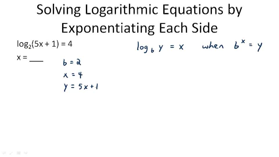 100+ [ Logarithmic Equations Worksheet ] | Solve A ...