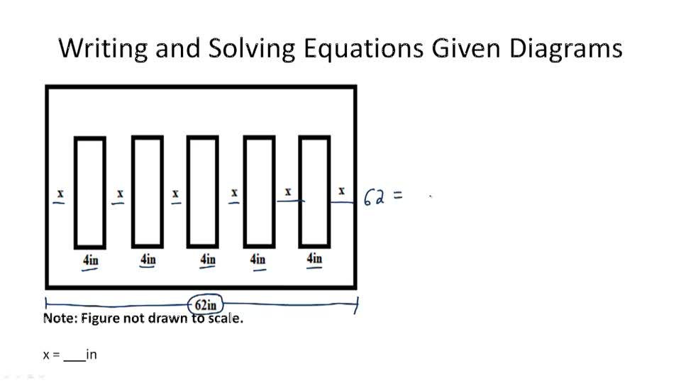 Using Diagrams to Solve Problems - Example 1