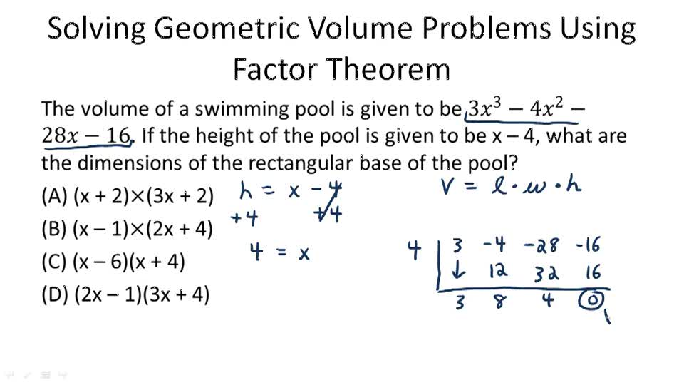 Worksheet Division Of Factor Theorem: polynomial division video algebra ck12 foundation,