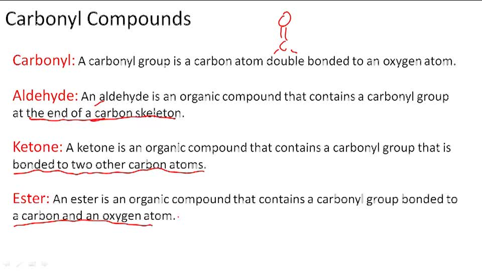 Carbonyl Compounds - Overview