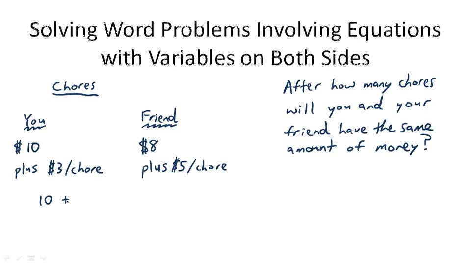 Solving Word Problems - Overview