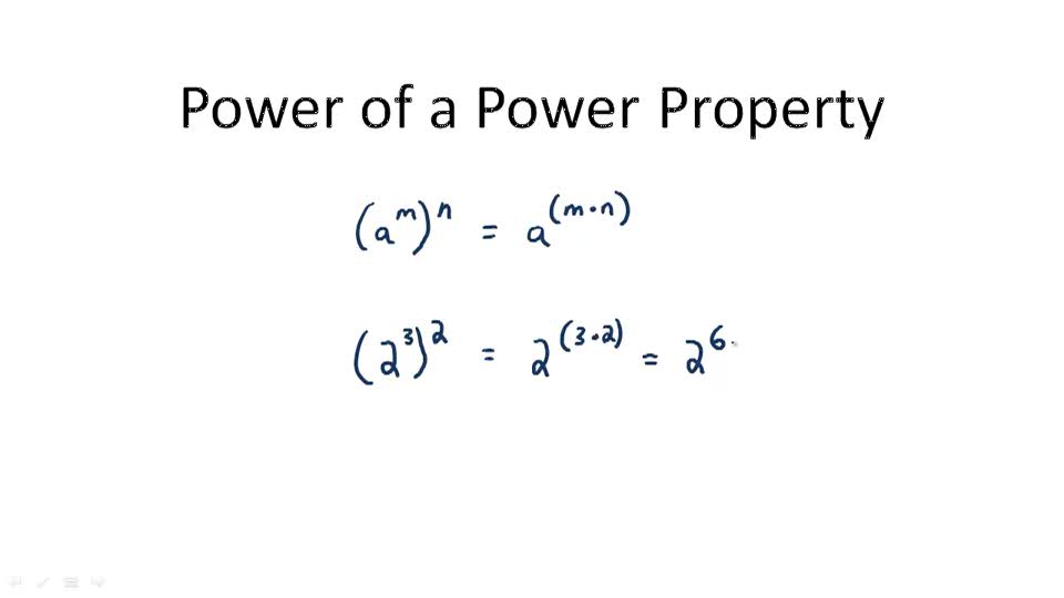 Power of a Power Property - Overview