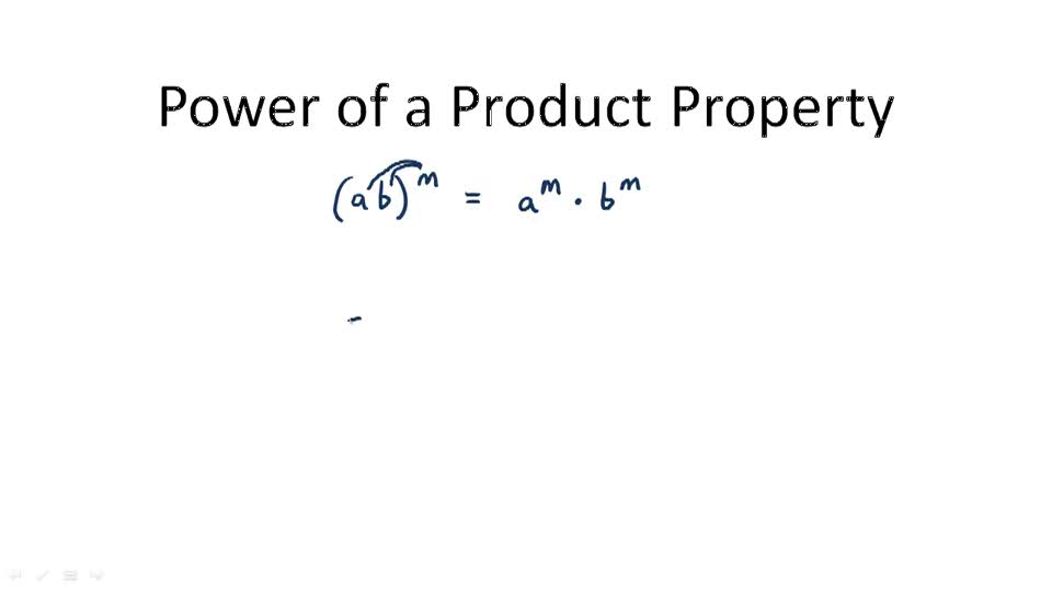 Power of a Quotient Property - Overview