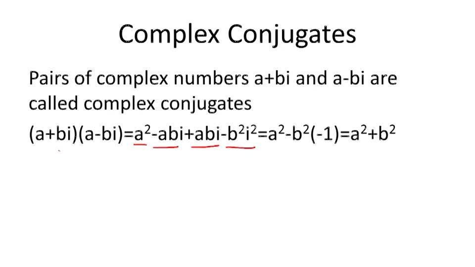 Complex Conjugates - Overview