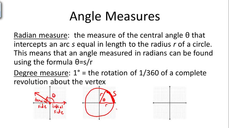 Angle Measures - Overview