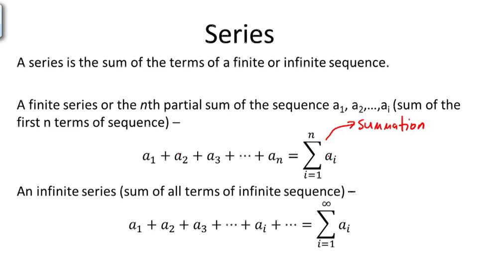 Series - Overview