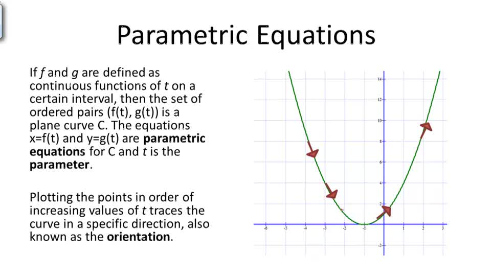 Parametric Forms and Calculus: Volume of Revolution | CK-12