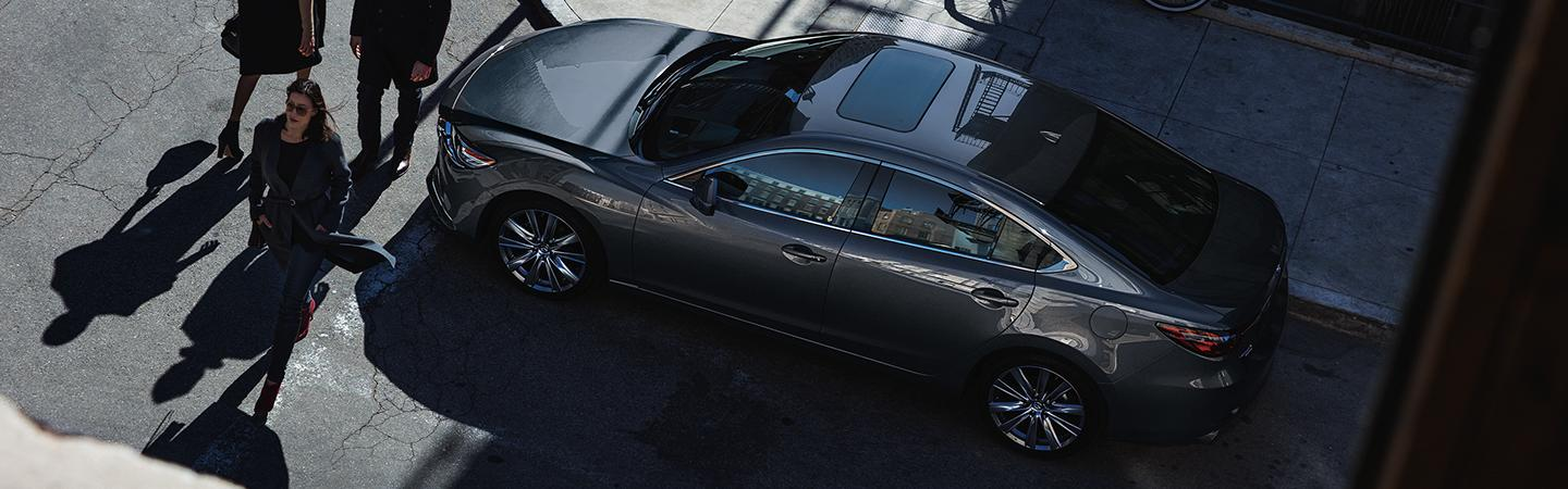 Overview of the 2020 Mazda6 parked outside