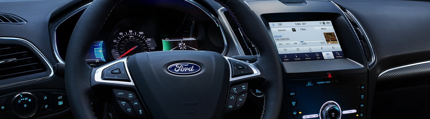 2020 Ford Edge technology features