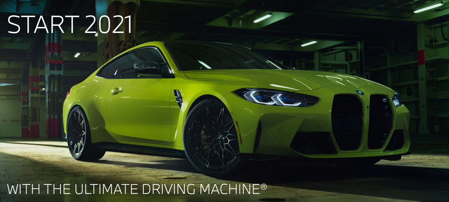 Start 2021 with the ultimeate driving machine