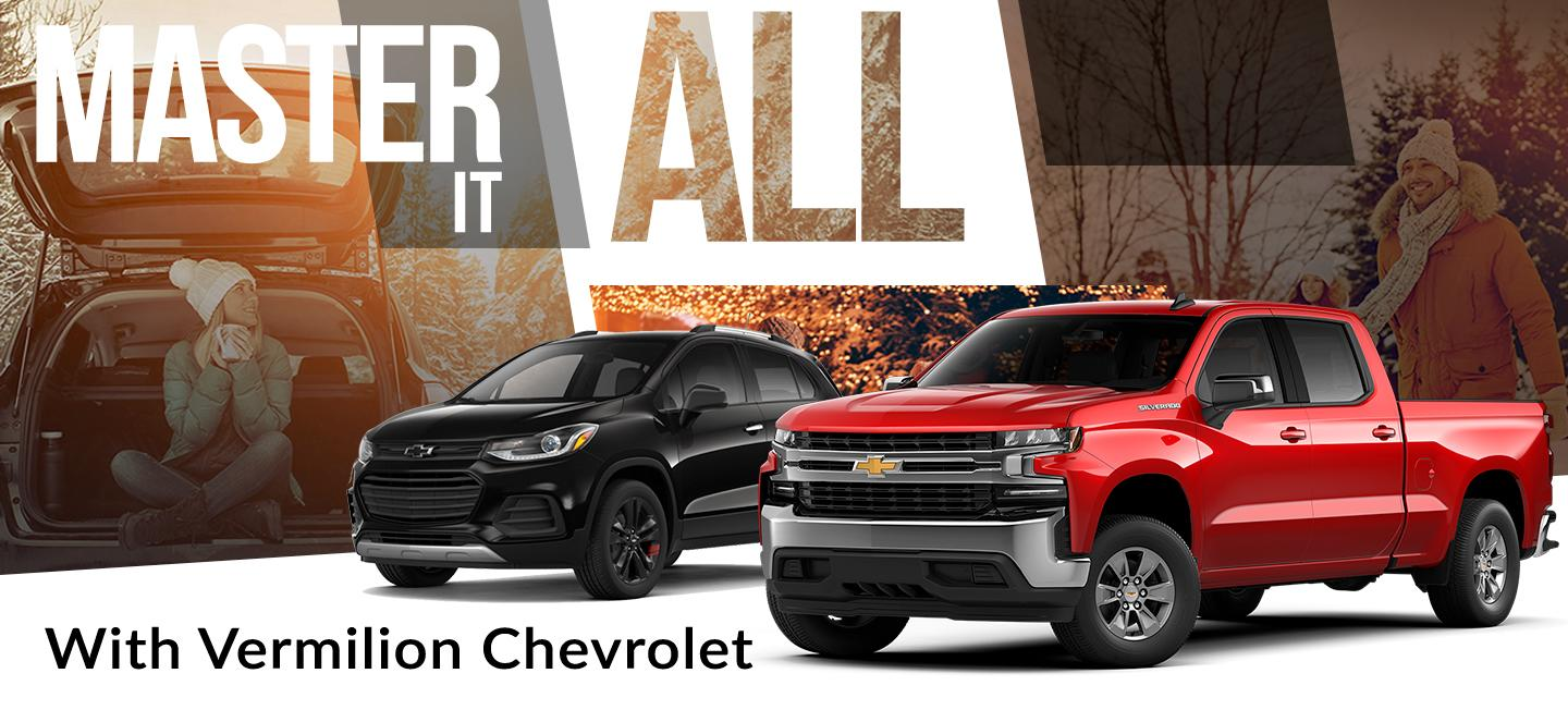 Master it all with Vermilion Chevrolet