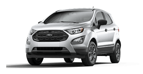Silver Ford Ecosport