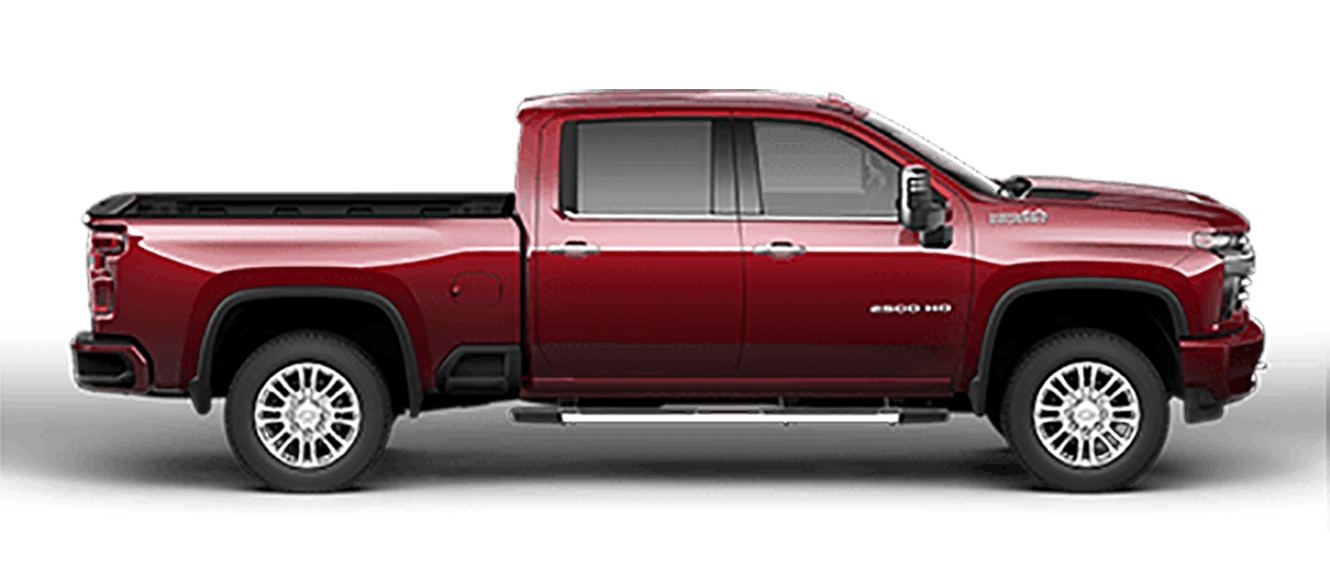 New Silverado 2500 at Spitzer Chevrolet