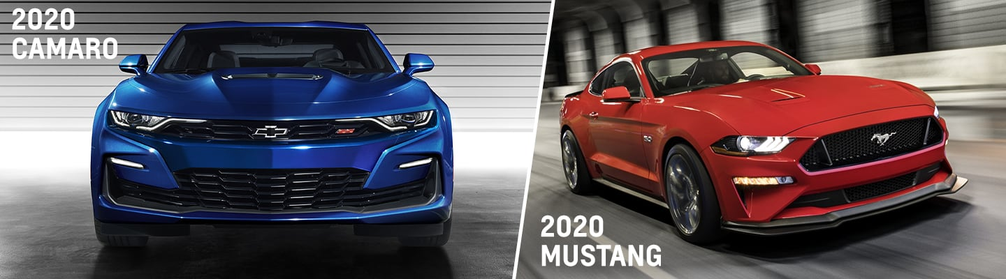 2020 Chevy Camaro & Ford Mustang