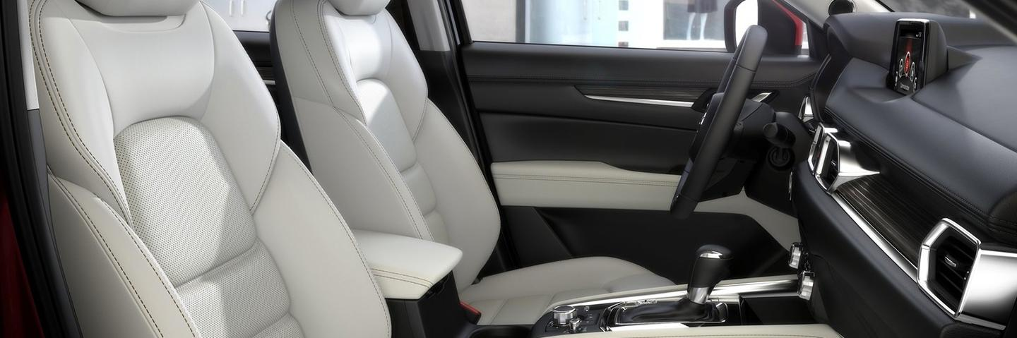 CX-5 interior side view