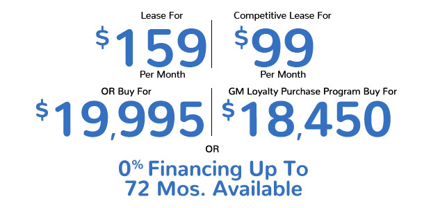 Equinox Lease for $159 per month | Competitive Lease for $99 Per Month | Buy for $19,995 | 0% Financing up to 72 months