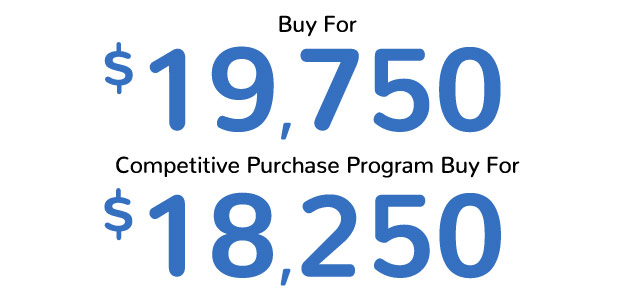 Malibu Buy For $19,7505 | GM Loyalty Purchase Program Buy For $18,250