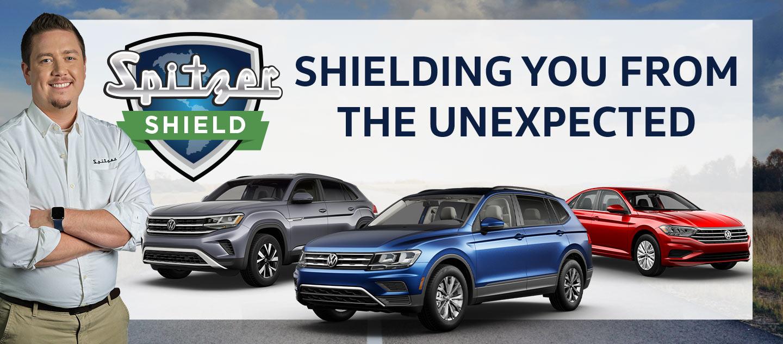 Spitzer Shield at Spitzer Volkswagen