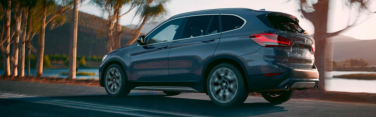 2020 BMW X1 in motion