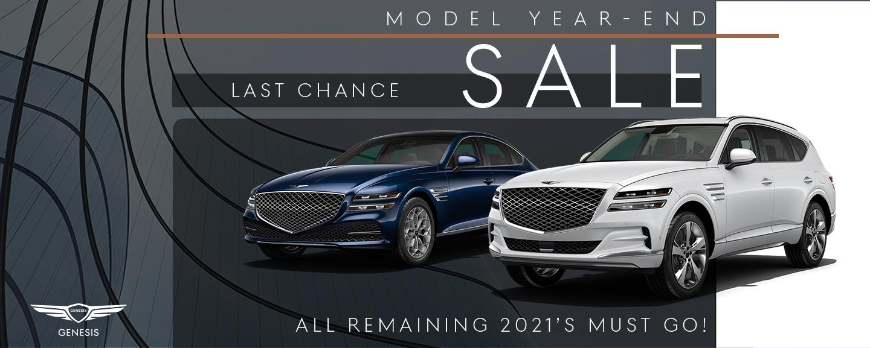 Model Year-End Sale
