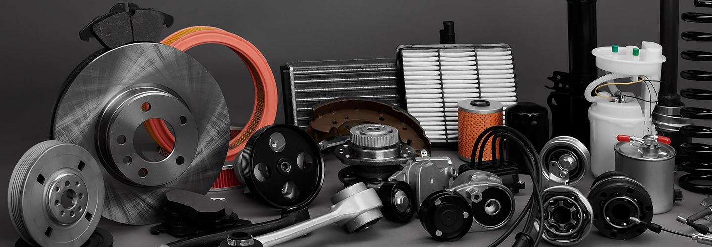 A large group of Cadillac OEM parts