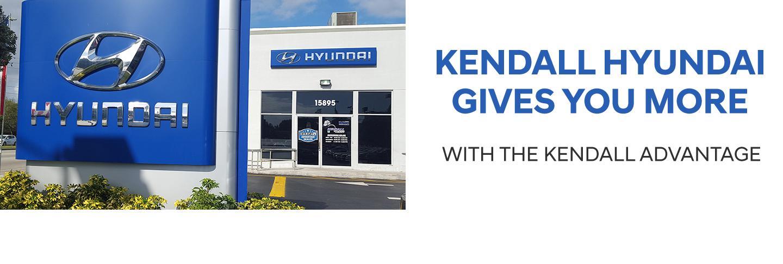 Kendall Hyundai Gives You More