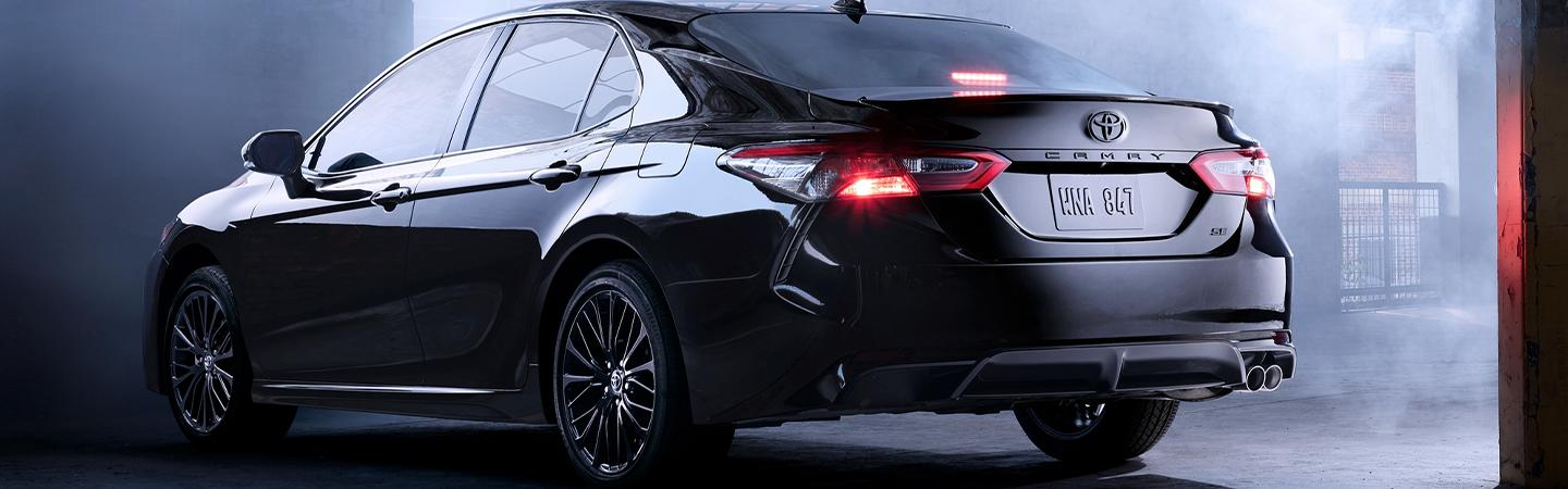 Rear view of the 2020 Toyota Camry