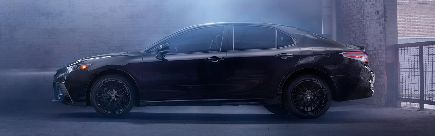Side view of the 2020 Toyota Camry
