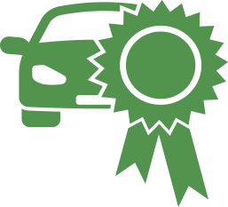 icon of a warranty on a car