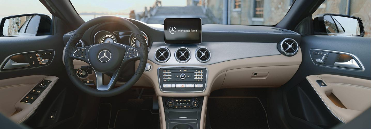 Interior of the 2020 Mercedes-Benz GLA