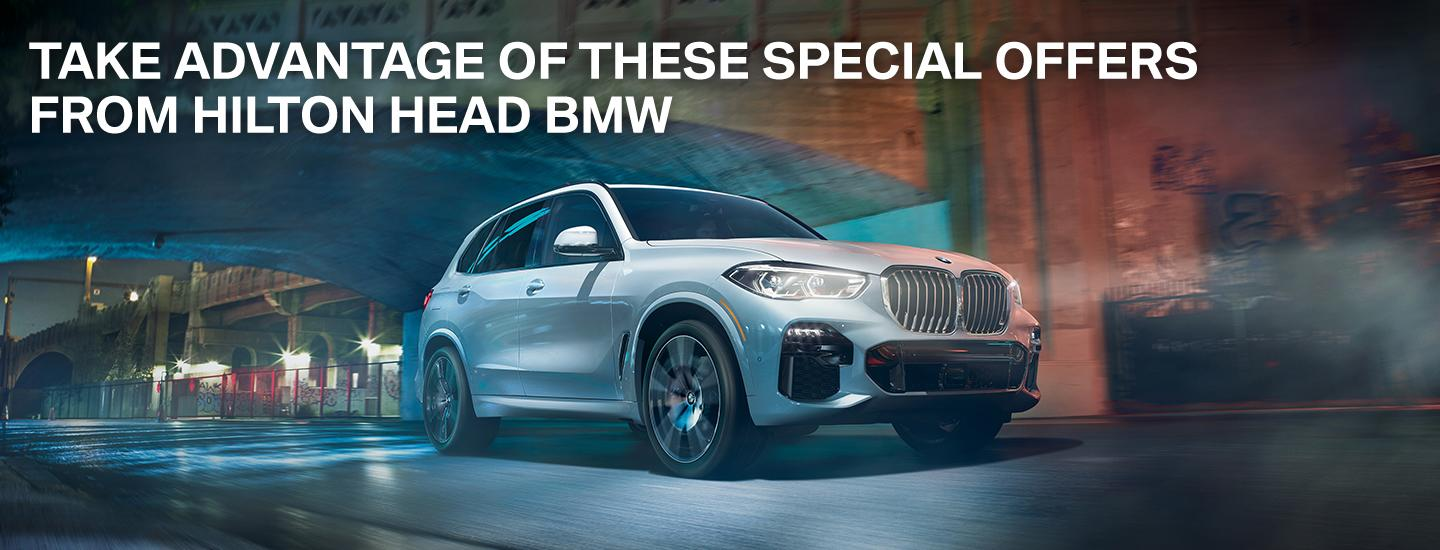 Take Advantage Of These Special Offers From Hilton Head BMW