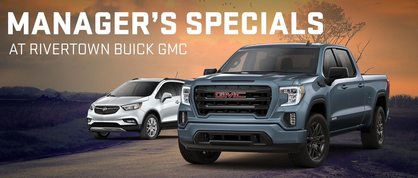March offers at Rivertown Buick GMC
