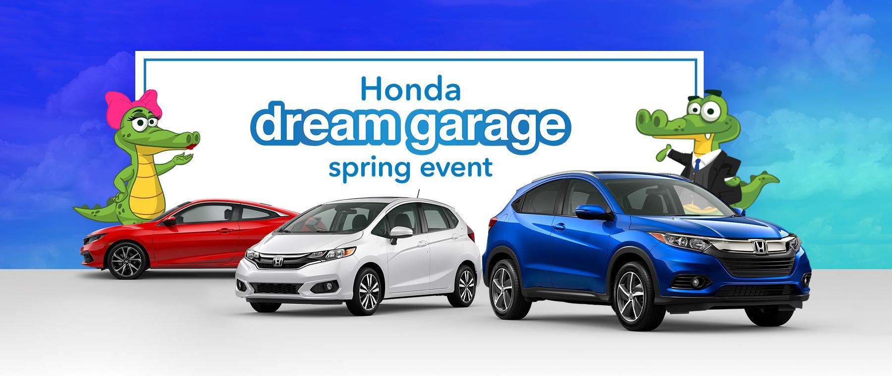 Honda dream garage spring event