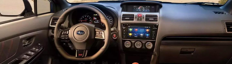 Interior of the 2021 Subaru WRX