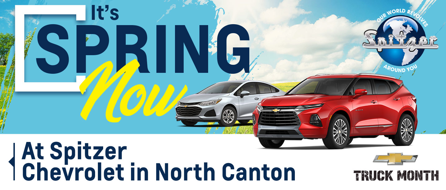 Say Hello To Good Buys at Spitzer Chevrolet in North Canton