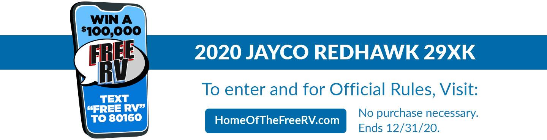 2020 Jayco Redhawk 29XK