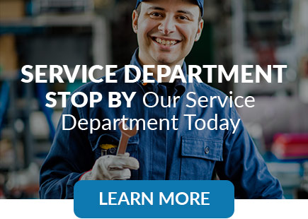 Service Department | Stop by our service department today | Learn More