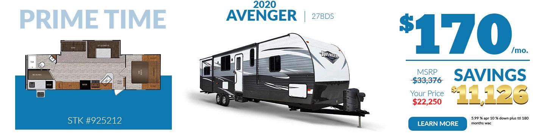 2020 Avemger $170 per month