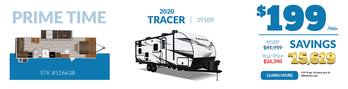 2020 Tracer $199 per month