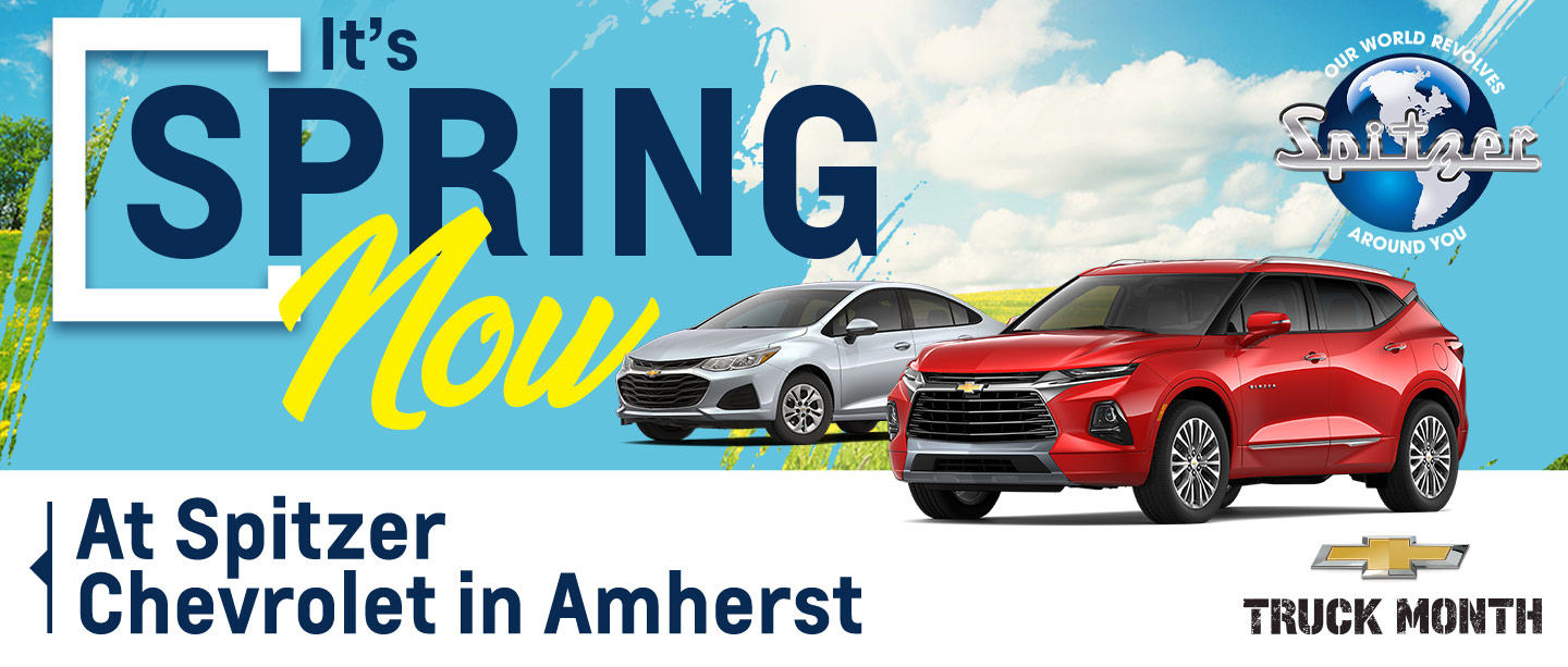 Say Hello To Good Buys at Spitzer Chevrolet in Amherst