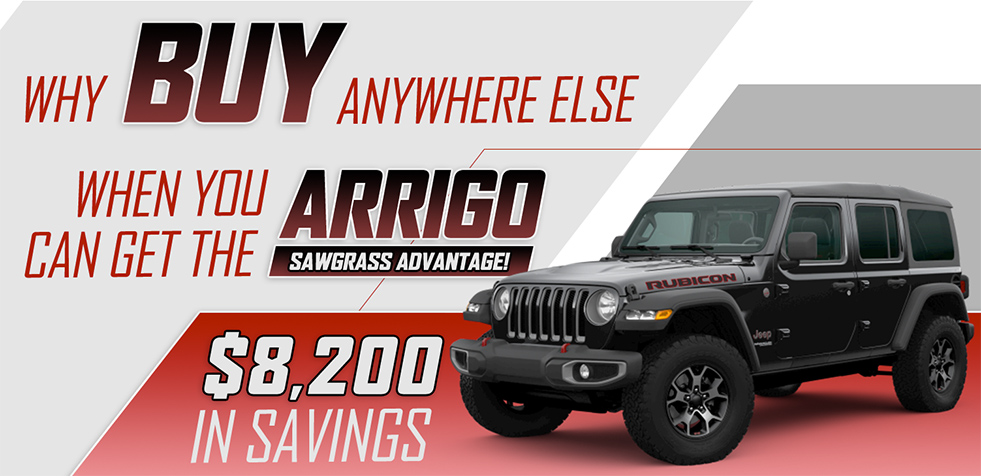 Why buy anywhere else when you can get the Arrigo Sawgrass Advantage
