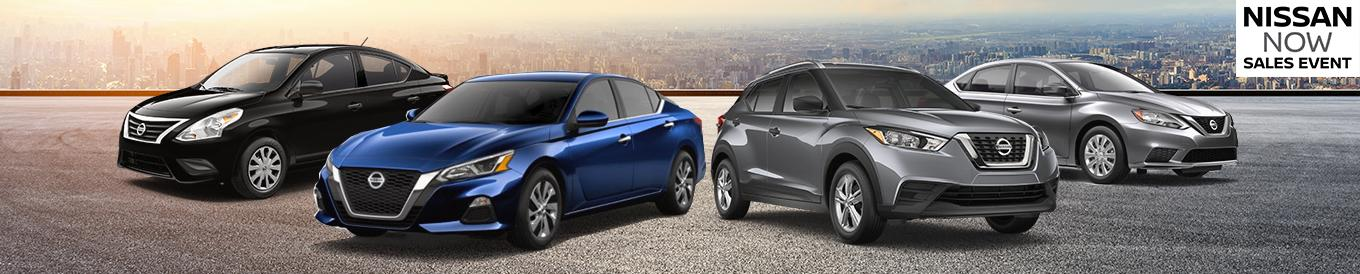 Nissan line up | Nissan NOW Sales Event