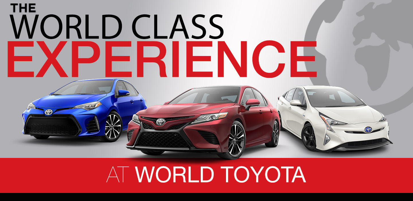 The World Class Experience At World Toyota