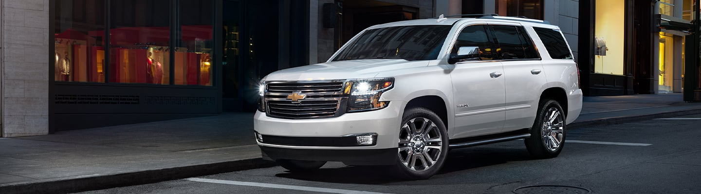 2020 Chevy Tahoe side view