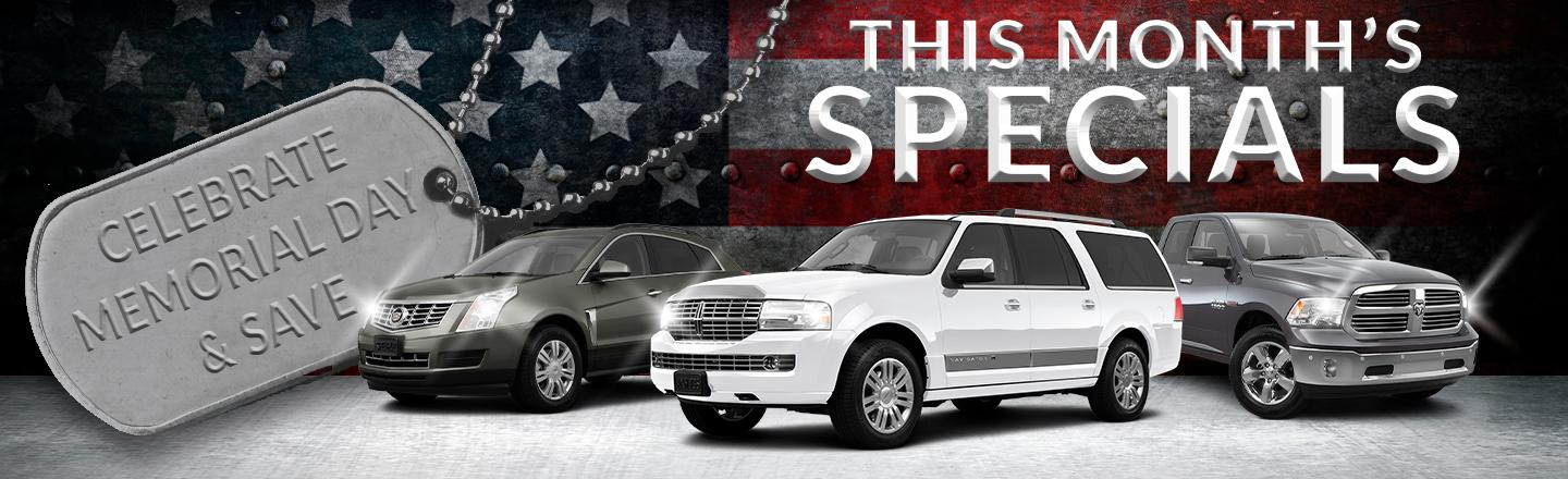 Monthly Specials at I-75 Autos, Lake City
