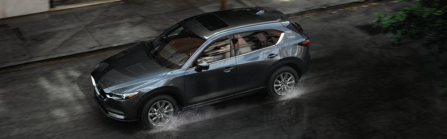 Overview of the top of a 2020 Mazda CX-5