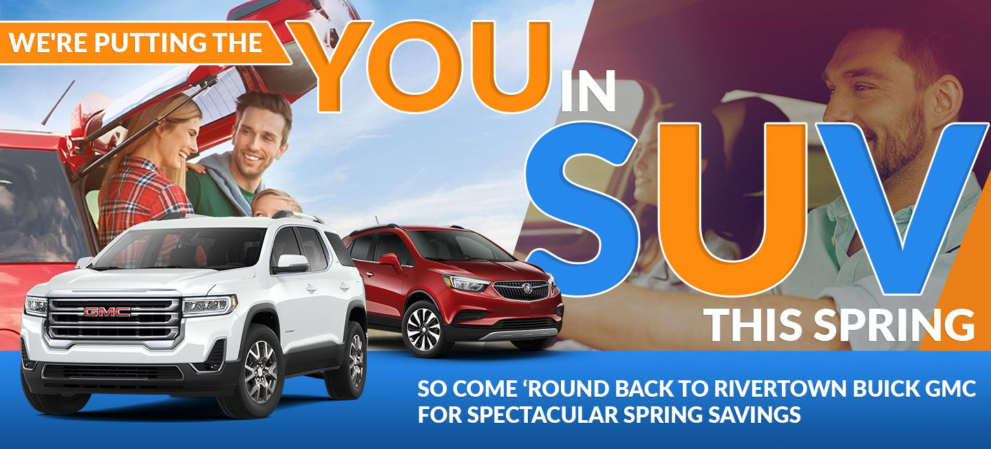 We're putting you in SUV this Summer